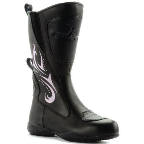 women s touring motorcycle boots blytz ladies leather waterproof motorbike motorcycle