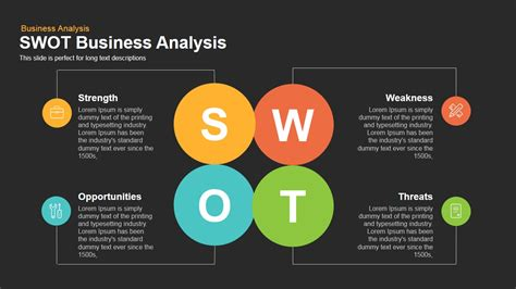 free swot template powerpoint swot business analysis powerpoint keynote template