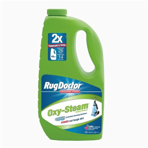 rug doctor 40 oz oxy steam carpet cleaner 05019 the