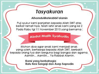membuat kartu ucapan tahun baru islam membuat desain template ucapan syukuran kelahiran anak