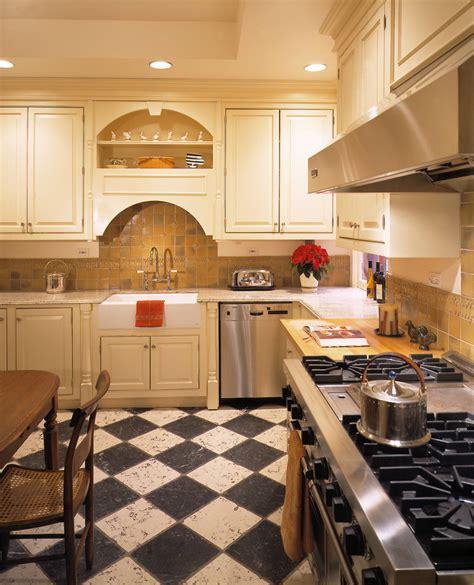 Traditional Kitchen Floor Tiles by Baroque Floor Stencils Technique New York Traditional