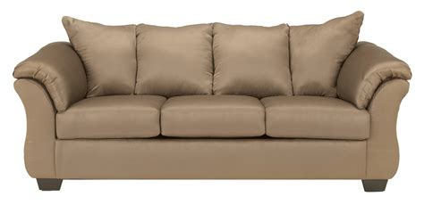 darcy sofa and loveseat ashley signature design darcy mocha contemporary