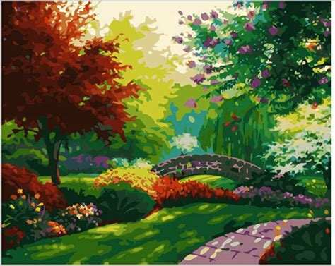 Landscape Pictures To Paint In Acrylic 1000 Images About Landscapes Digital Painting On