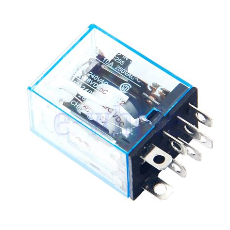 Relay 12v 10a Omron relay omron ly2nj small relay 10a 8pin coil dpdt 12v dc tw