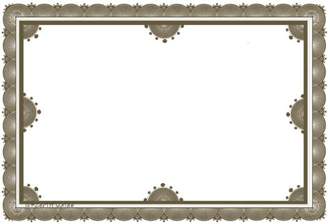 certificate borders templates free certificate borders to