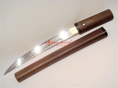 Handmade Tanto - handmade japanese hira zukuri blade tanto sword clay