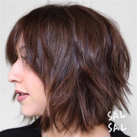 shag hairstyles with short bangs 40 short shag hairstyles that you simply can t miss bobs
