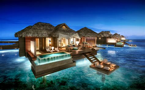 can go to sandals resorts overwater bungalows sandals royal caribbean jamaica