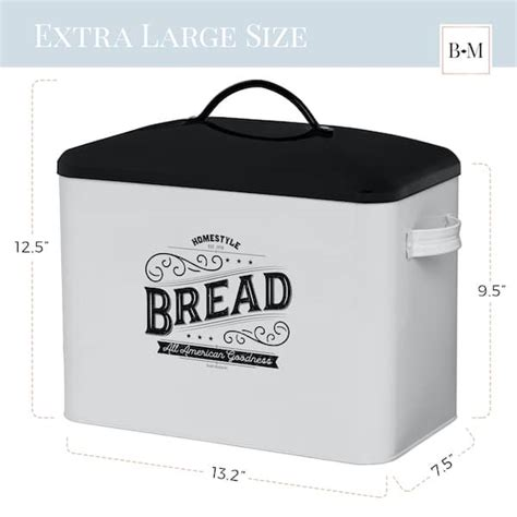 product kentucky large farmhouse bread box baie maison