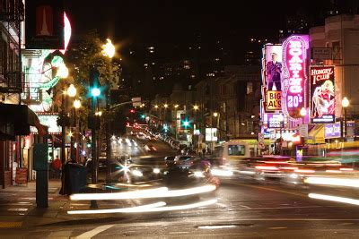 light district san francisco san francisco photo of the day light district