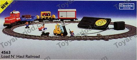 Lego City Eisenbahn Zubehör 600 by Lego 4563 Load And Haul Railroad Set Parts Inventory And