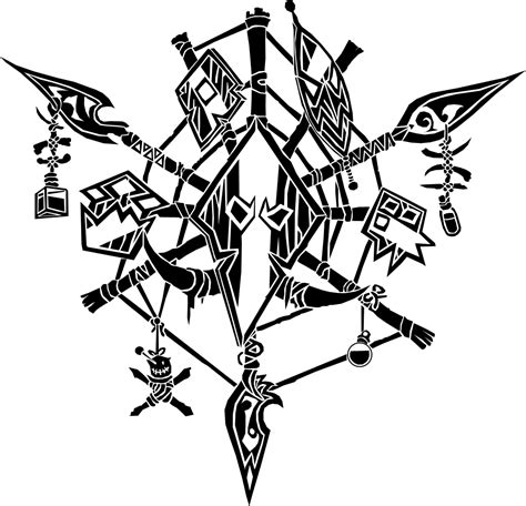 troll tattoos designs troll crest by ropa to on deviantart