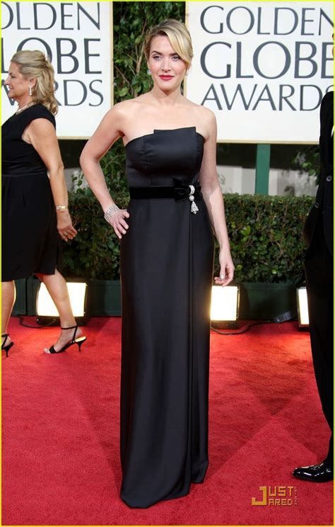 Kate Winslet At The Golden Globes by Kate Winslet Wins 2009 Golden Globe Best Photo
