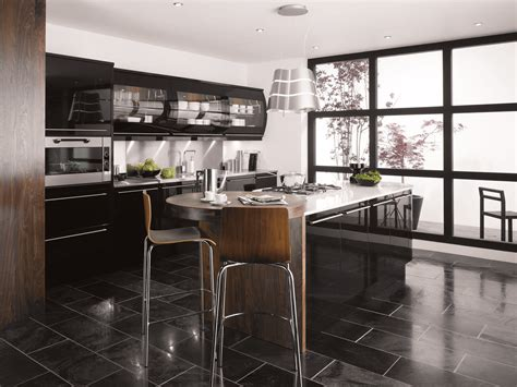 kitchen design black black kitchens decosee com