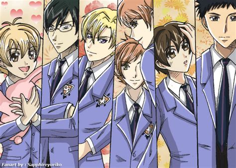 ouran highschool host club free ouran host club by sapphireyuriko on deviantart