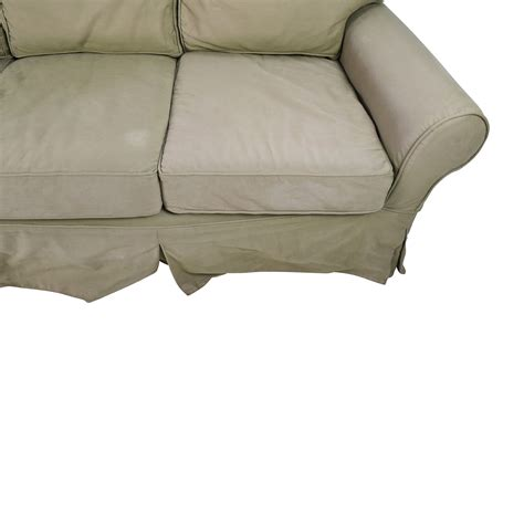 couch pottery barn 89 off pottery barn pottery barn sage couch sofas