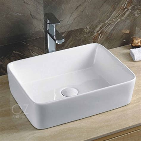 counter top for sink bathroom square above counter top ceramic basin sink