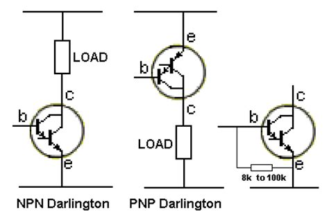 test darlington transistor with multimeter testing electronic components