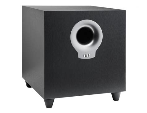 elac debut  powered home theater subwoofer