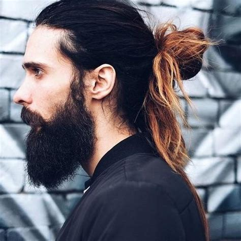 men requesting topknots hair styles with longer hair 50 stately long hairstyles for men
