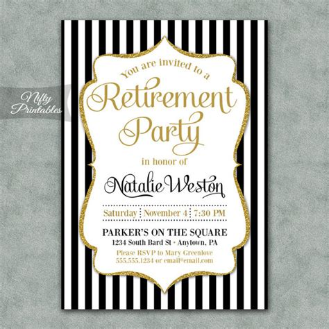 retirement card template free retirement invitation template 36 free psd format