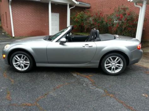 how to sell used cars 2009 mazda miata mx 5 electronic toll collection sell used 2009 mazda mx 5 miata sport convertible 2 door 2 0l in woodstock georgia united