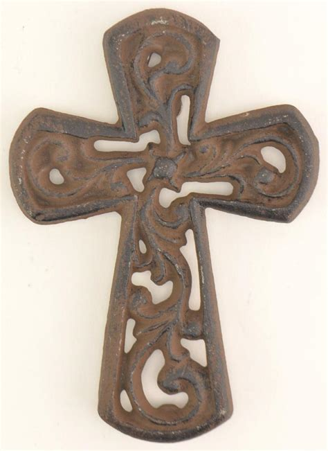 Cast Iron Wall Decor by Cross Wall Hanging Cast Iron Cross Crass Wall Decor