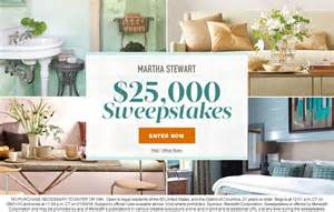 Martha Stewart Daily Sweepstakes - martha stewart 25 000 sweepstakes martha stewart