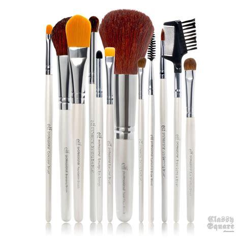 Lamica Complete Essential Set Makeup Brush Kuas Makeup e l f essential us professional complete set of 12