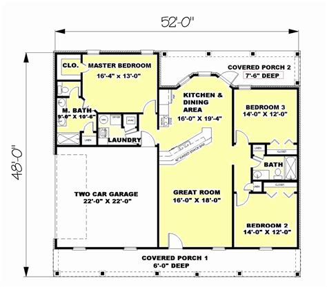 square foot house plans 1500 sq ft and under