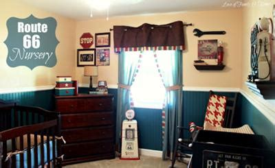 Vintage Car Bedroom Decor by Vintage Cars Route 66 Baby Nursery Theme