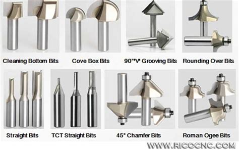 types of routers woodworking different types wood router cutter bits for cnc carving
