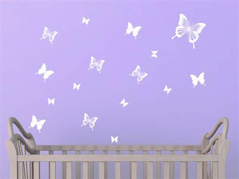 gibt es fliegende teppiche wandtattoo set fliegende schmetterlinge bei homesticker de