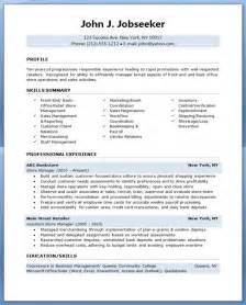 Retail Manager Resume Template by Retail Store Manager Resume Resume Downloads