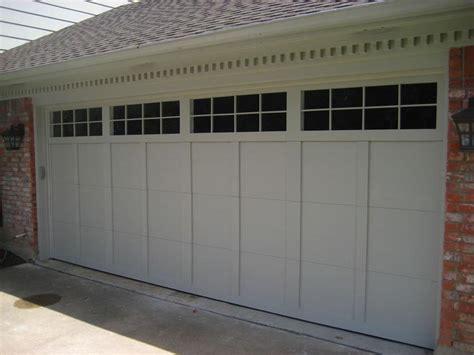 garage door window inserts door window blinds functionality window treatments design ideas