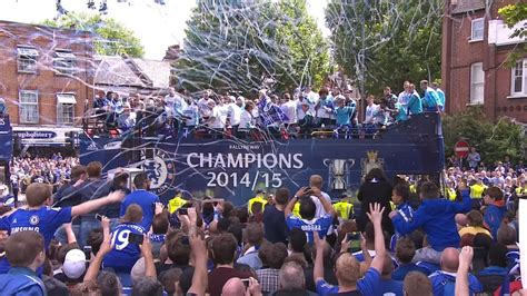 chelsea fc victory parade 2015 youtube