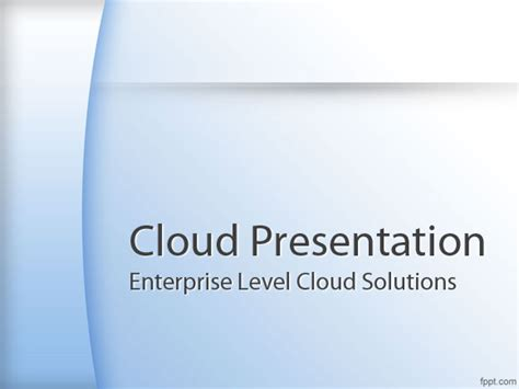 downloadable templates for powerpoint best cloud computing powerpoint templates