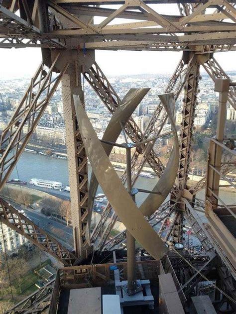 Eiffel Tower Floor L by Two Wind Turbines Will Power Floor Of Eiffel