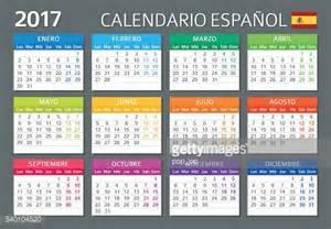 Calendario En Espanol Calendar 2017 Calendario Espanol 2017 Vector