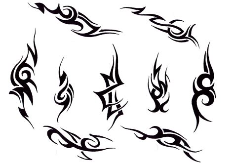 thin tribal tattoo designs tribal pictures my tattoos zone