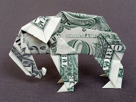 Elephant Dollar Bill Origami - 17 images about money dollar origami on