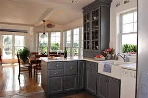 Grey Kitchen Cabinets With White Appliances Pin By Neuman On Ideas For Kitchen