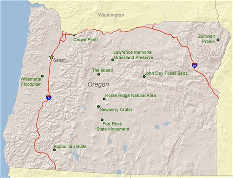 map of oregon national parks oregon national and state parks travel around usa
