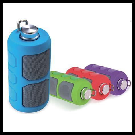 portable outdoor sport bluetooth waterproof speaker hook stereo bluetooth speaker with tf card