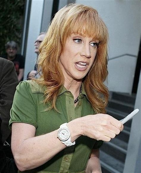 Kathy Griffin wears Chanel J12 Ceramic watch. #KathyGriffin #Comedian   Celebrity Women With