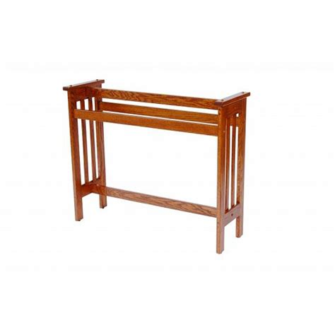 Wood Dining Room Sets mission quilt rack amish crafted furniture