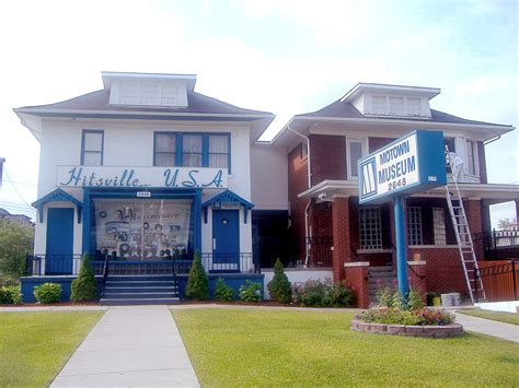 Records Detroit Michigan Hitsville U S A