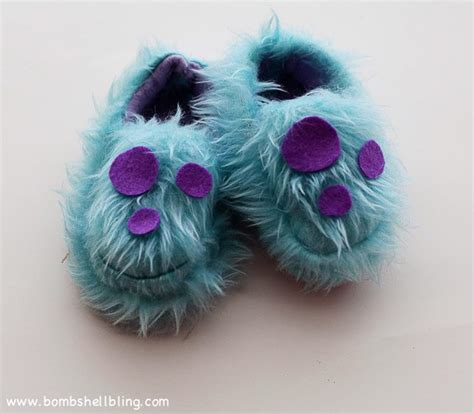 sully slippers monsters inc slippers