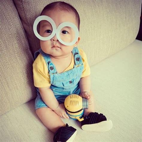 Nn Kid Minion Merah 23 costumes for bald babies rookie