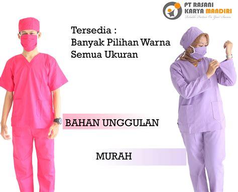 harga seragam medis rumah sakit rasani medika